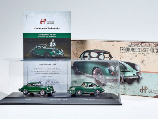 Scheunen-Duo: Porsche 356 vom HPP Traumwerk in 1:43