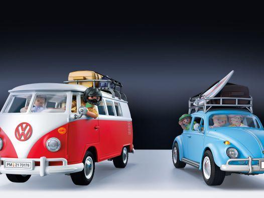 VW-Playmobile: VW Bulli und Käfer von Playmobil in 1:22,5