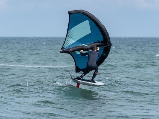 Wingsurfen lernen in der Welle – Teil 2