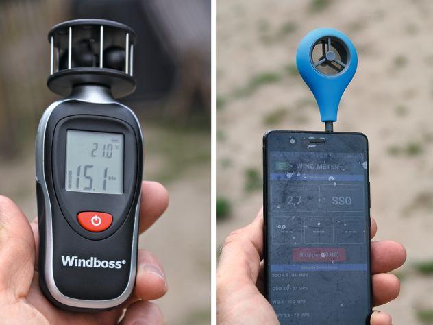 Ausprobiert: Windmesser von Windboss und Weather Flow