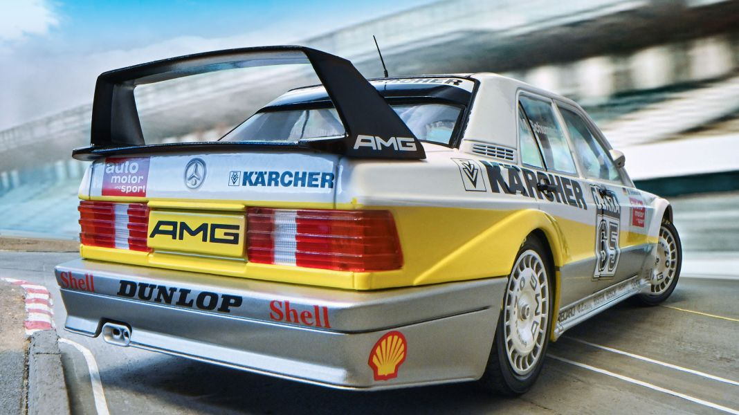 Schumi kärchert: '90 Mercedes DTM Michael Schumacher von Solido in 1:18