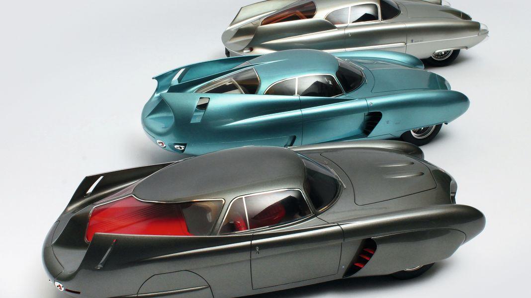 Der Aero-Alfa: Alfa Romeo BAT 5, 7, und 9 von Matrix in 1:18
