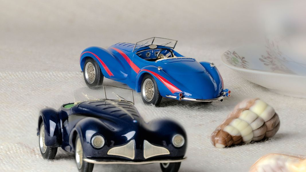 Belgische Pralinen: '41/48 Alfa Romeo de Mola von ABC in 1:43