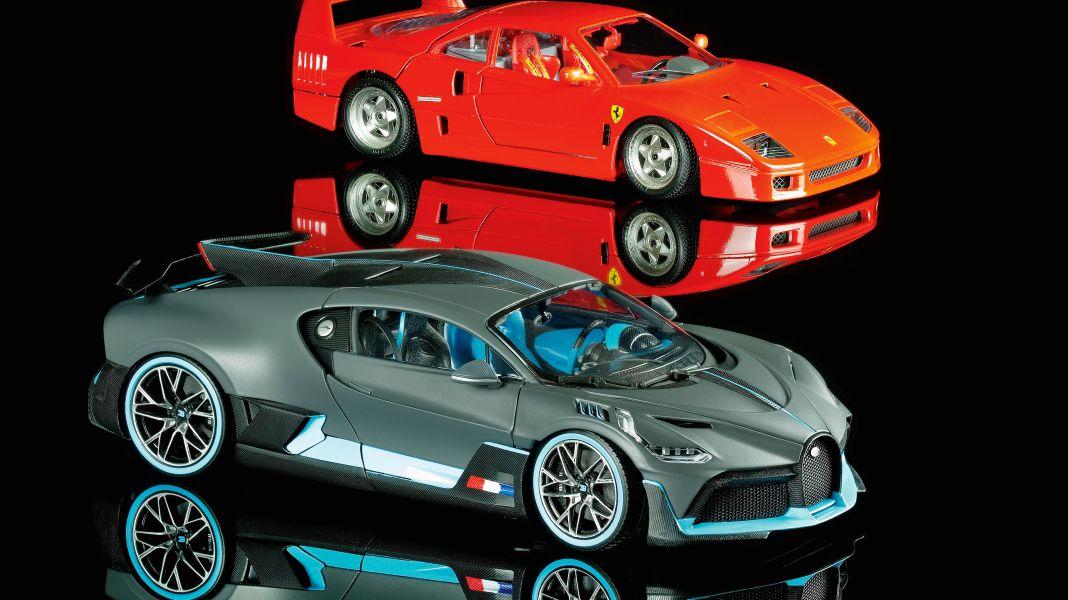 Bburago is back! 30 Jahre Bburago-Hype dank des Ferrari F40 in 1:18