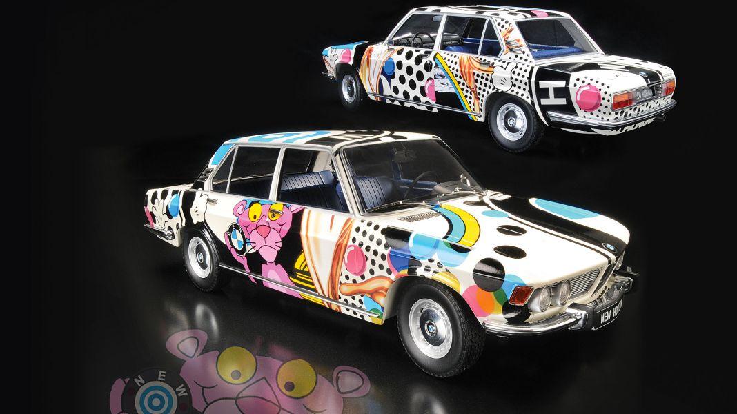 Leinwand frei! BMW 2500 Wundercar von Minichamps in 1:18