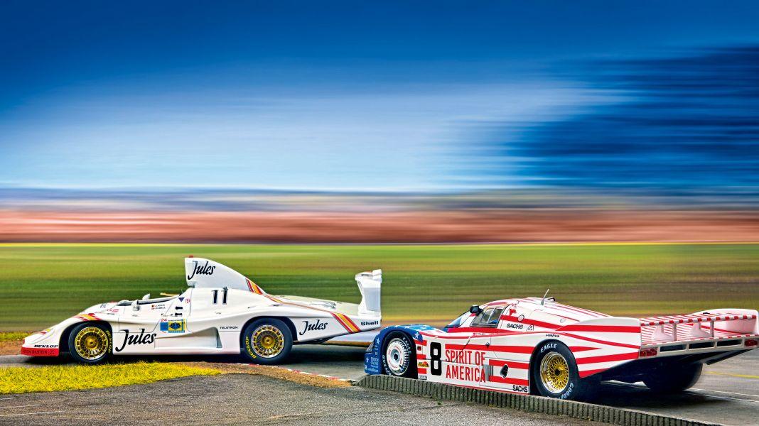 Le-Mans-Helden: Porsche 936 und 956 LH von Solido in 1:18
