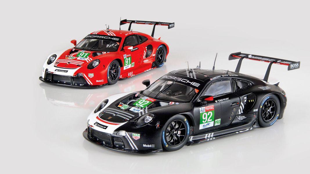 Le-Mans-Boxer: Porsche RSR LM 2020 von Minimax in 1:43