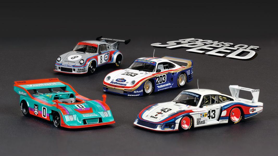 "Ikonenmaler: Porsche-Serie ""Icons of Speed"" in 1:43"