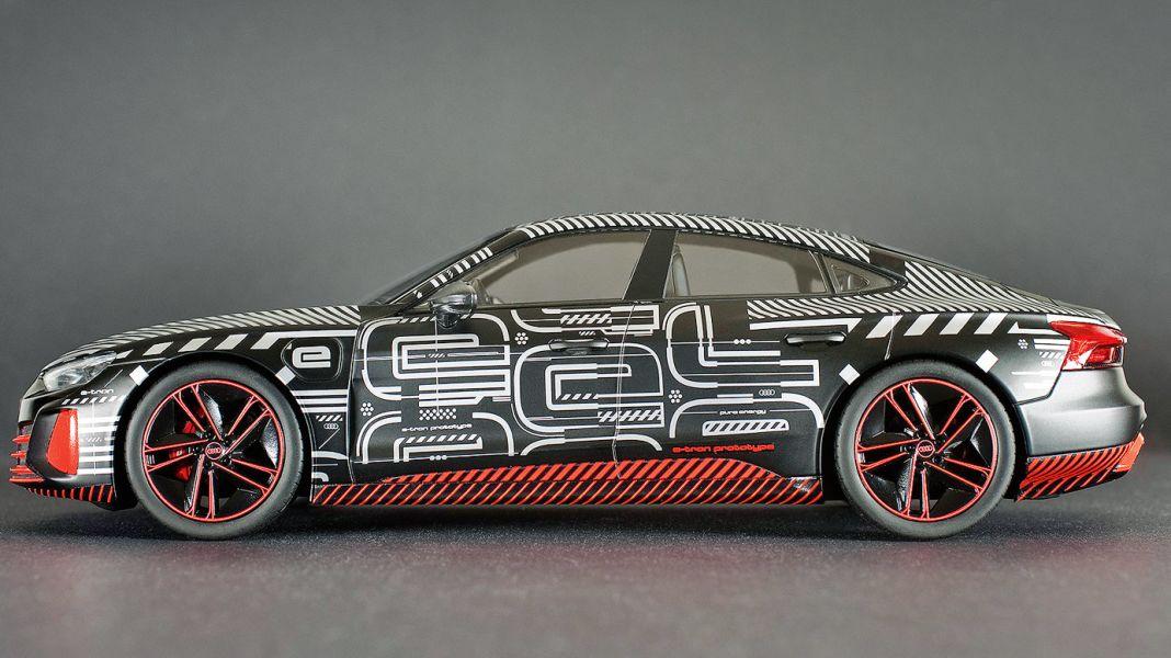 Audis GT-E: '21 Audi e-tron GT von Norev in 1:18