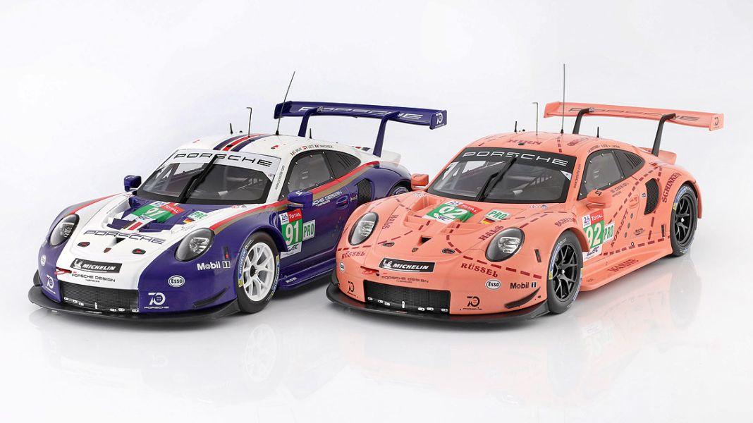Geheimcode RSR: '18 Porsche 911 RSR als Sondermodell von Ixo in 1:43 und 1:18