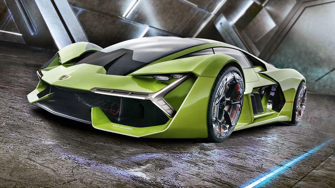 Der Dreitausender: '17 Lamborghini Terzio Millennio von Bburago in 1:24