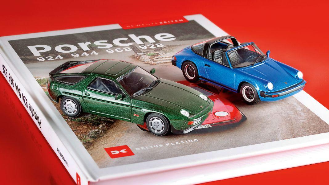 Zwei neue Porsche von Maxichamps in 1:43: Vorne oder hinten?