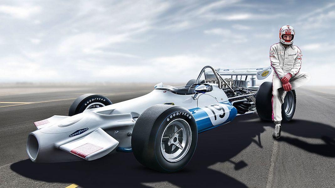 Chef im Cockpit: '70 Brabham BT33 von Tecnomodel in 1:18