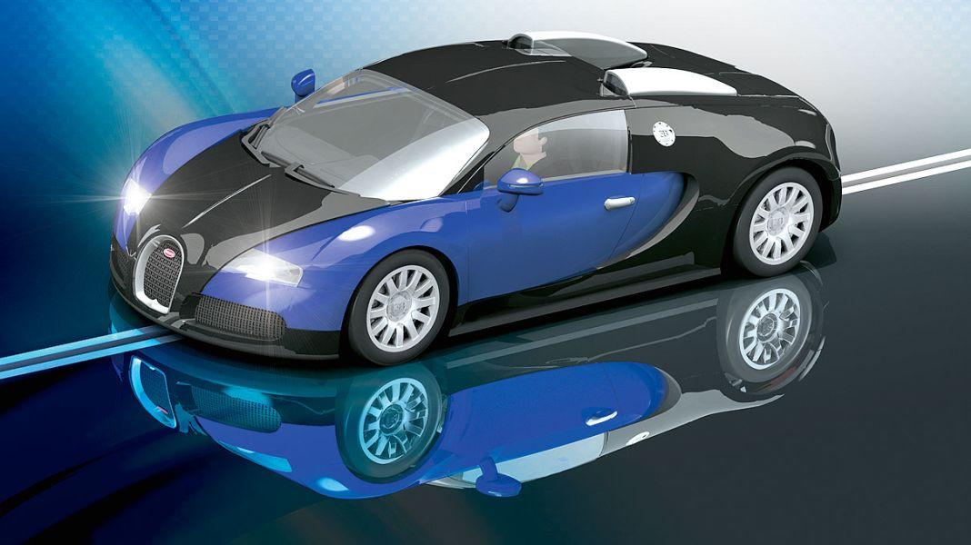 Piëchs Papiertiger: 15 Jahre Bugatti Veyron en miniature