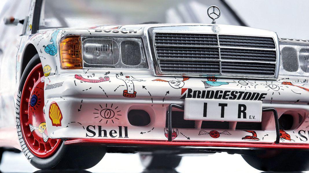 """Lohr-Beeren: '91 Mercedes Evo 2 """"Andora"""" von Minichamps in 1:18"""