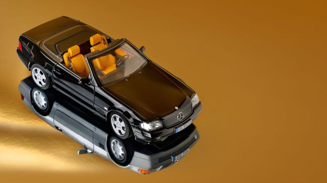 Mopf oder Zahl? '98 Mercedes-Benz 500 SL von Norev in 1:18