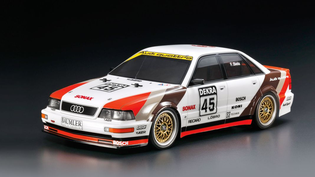 Audi Wow-8: '91 Audi V8 DTM Evo von Tamiya in 1:10