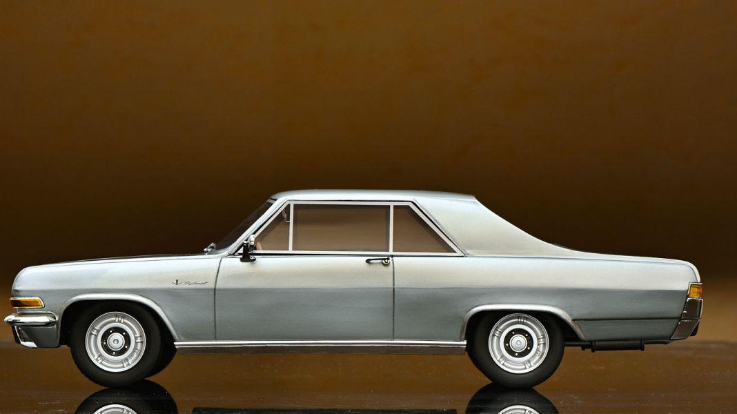 Der Wumms: '65 Opel Diplomat Coupé von Schuco in 1:18
