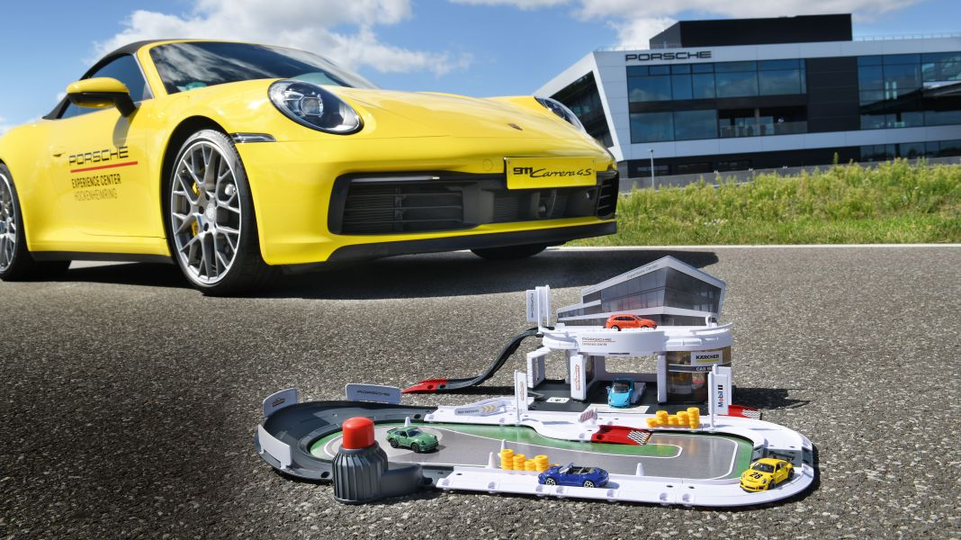 Fühlt sich gut an: Porsche und Majorette geben in Hockenheim Gas