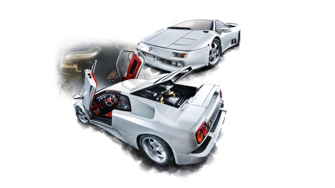 Der Diabloooooh! Lamborghini Diablo SE 30 Jota von Autoart in 1:18
