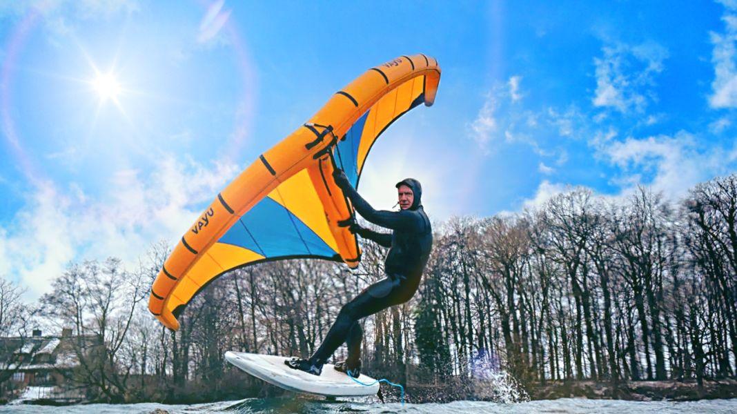 Neue Wingsurf-Marke Vayu – Interview mit Gründer Philip Horn