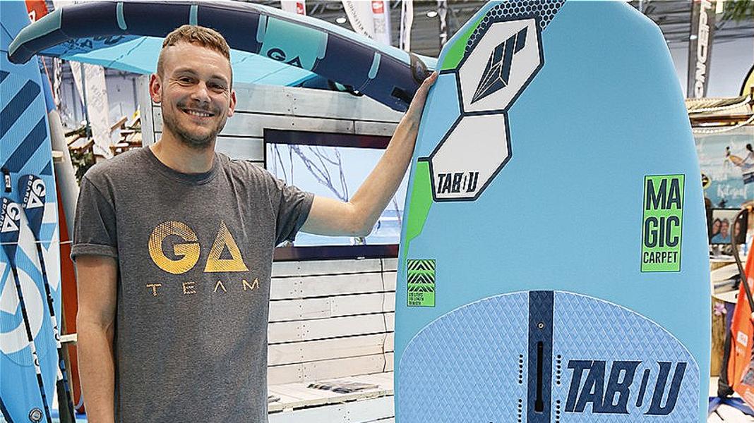 Tabou Magic Carpet – Hybridboard für Wind- und Wingsurfer