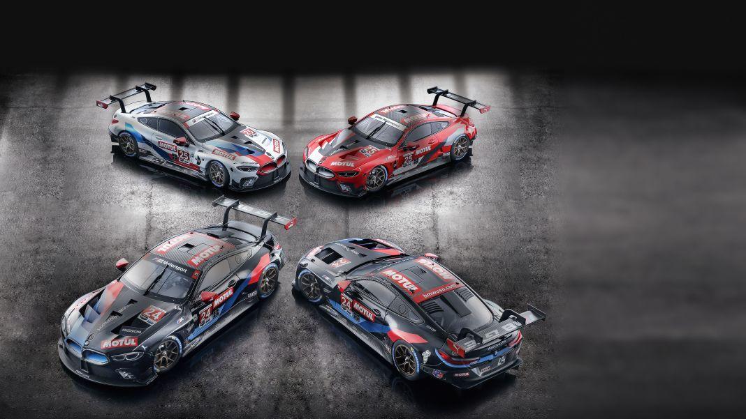 8 mal 4: ´20 BMW M8 GTE von Minichamps in 1:18