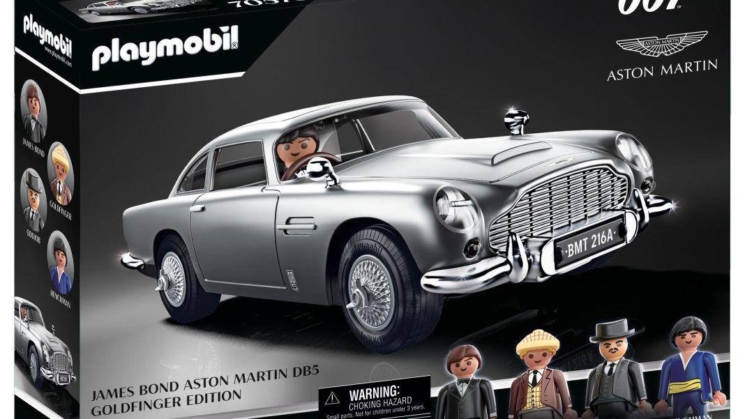 007 sein Playmobil-Aston-Martin