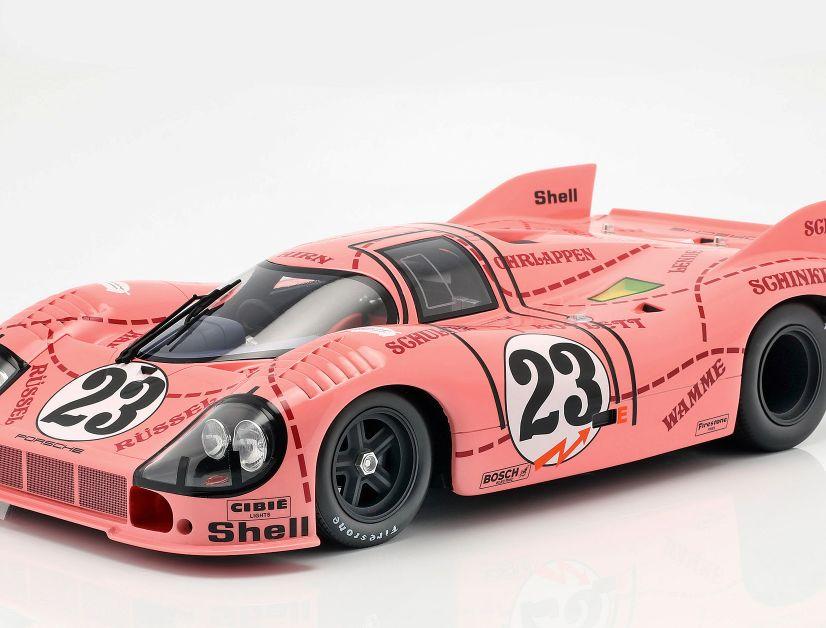 """CMR bekennt in Sachen 1:12 und Resine weiter Farbe und bringt jetzt den Porsche 917/20, der als """"pinke Sau"""" Geschichte geschrieben hat"""