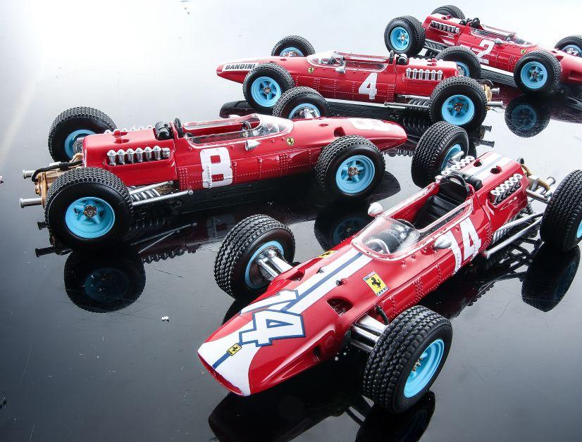 Tecnomodel startet 2022 eine hauseigene 1:43-Serie. MODELL FAHRZEUG zeigt erste Bilder, hier der Ferrari 512 F1 aus der Saison 1965, und kennt mehr Details zu dem Projekt aus Opera.