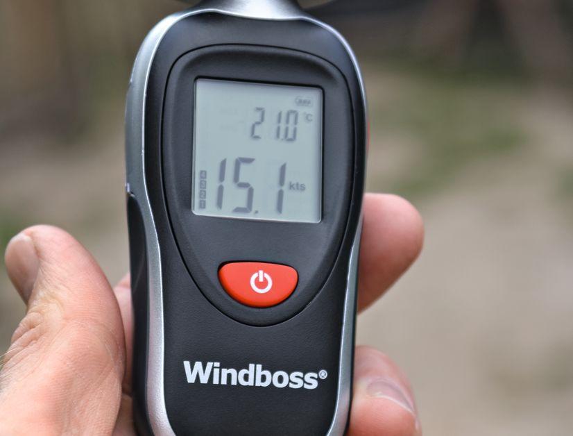 Windboss Windmesser