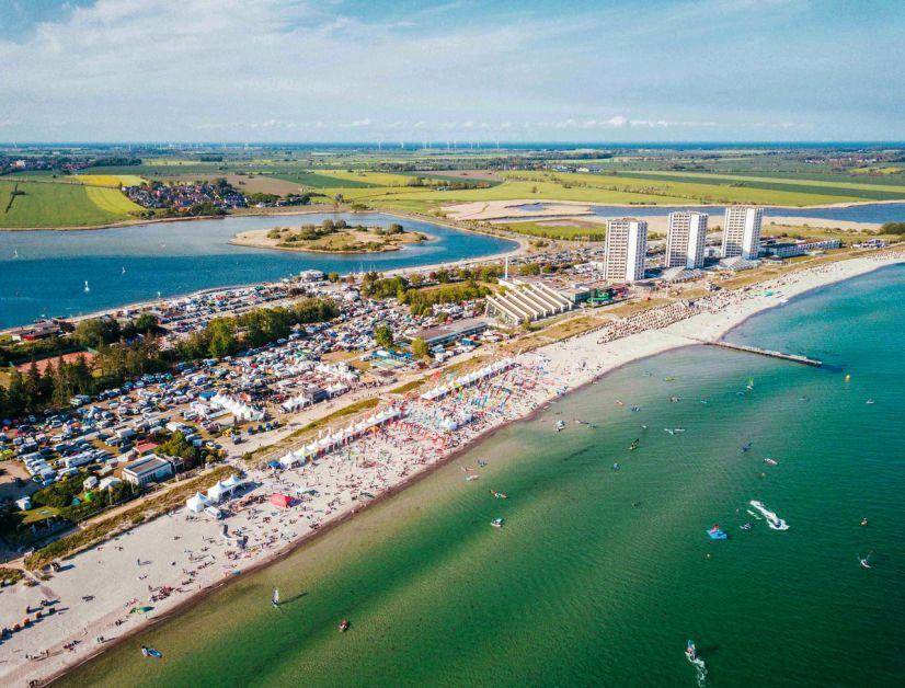Testen statt kaufen – beim Surf-Festival auf Fehmarn sind über 20 Marken am Start