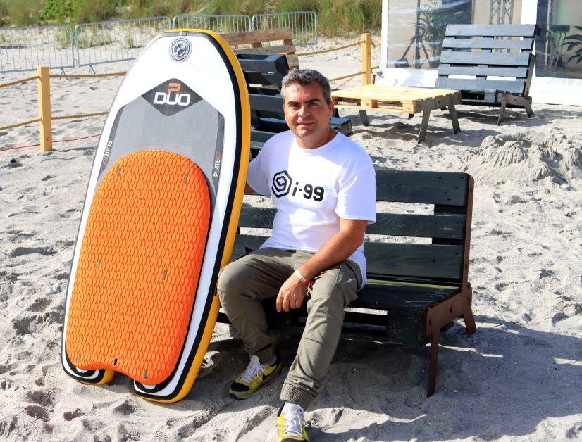 Markus Müller importiert unter anderem die Marken Duo und I-99