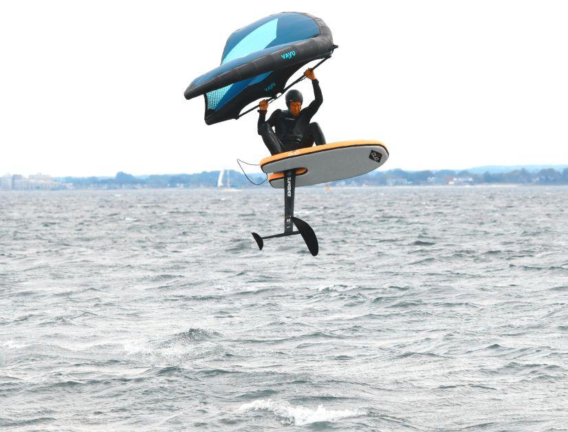 Das Duo Plate Wingboard im Test