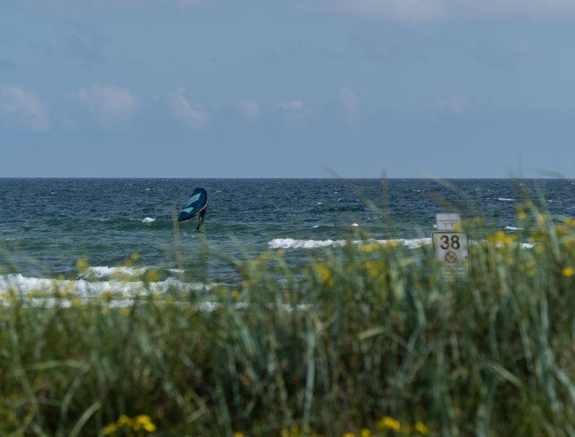 Kleine Wellen, tiefes Wasser und möglichst keine Hindernisse sind ideal.