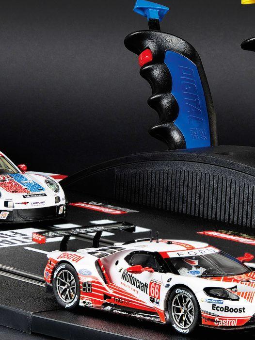 "Gaben-Zisch! Carrera-Set ""GT Face off"" in 1:32"