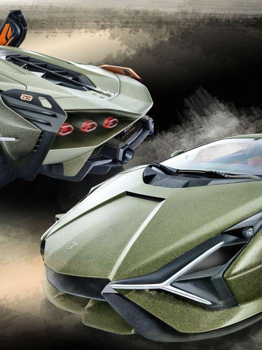 Sieh an, der Sián: '19 Lamborghini Sián von Bburago in 1:18