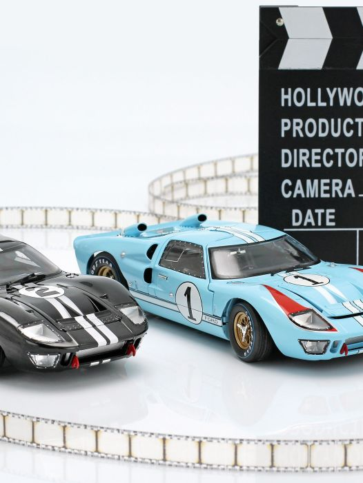Hollywood-Drive: Modelle zum Film Le Mans 1966 in 1:18