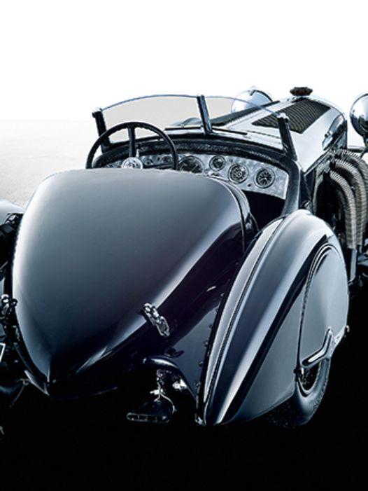 """Das Aristocar: `32 Mercedes SSK """"Schwarzer Prinz"""" von CMC in 1:18"""