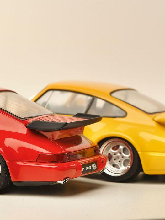 Bunte Hunde: Porsche 911 (964) von Solido in 1:18