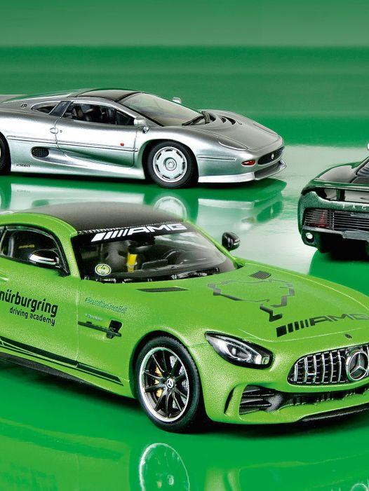 Maxi & Mini: Supersportwagen von Maxi- und Minichamps in 1:43