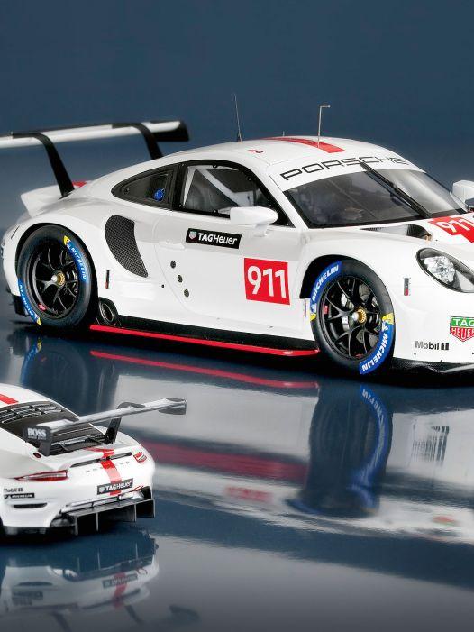 '19 Porsche 911 (992) RSR von Minimax in 1:43, 1:18, 1:12: Titelverteidiger?