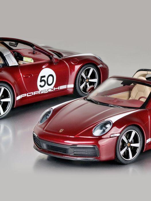 """Für Cherrypicker: Porsche 911 4S Targa """"Heritage"""" von Minichamps in 1:43"""