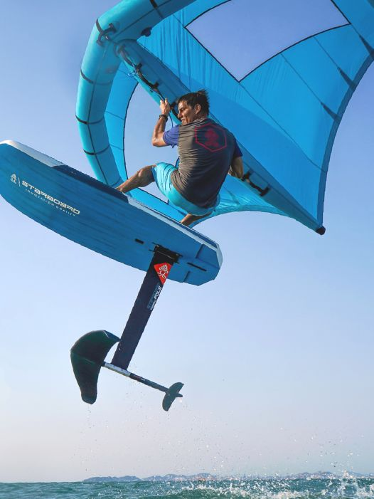 Crossoverboard im Test: Starboard Foil X Wing