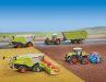 Wiking und Landwirtschaftsspezialist Claas haben eine lange Ahnengalerie in 1:87, die der Xerion TERRA TRAC innovativ fortschreiben kann
