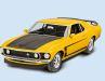 Revell parkt den '69 Ford Mustang Boss 302 als 1:25- Bausatz im Regal