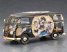 """Hasegawa stellt den guten alten VW Bulli als Lieferwagen in 1:24 und der Version """"Egg Girls Steampunk"""" vor"""