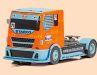 """Scalextric setzt die Truckrace-Serie in 1:32 mit dem """"Starco""""-Lkw im """"Gulf""""-Look fort"""