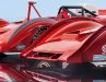 Unterschiedliche Felgen, Nasen und Hutzen zeigt der Ferrari 712 Can-Am von Tecnomodel in 1:18