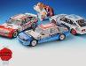 Außen wie innen zeigen die Rennversionen des Rover Vitesse auch als fein detaillierte 1:18er von Minichamps jede Menge Biss